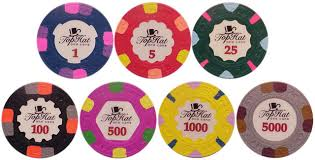 An Overview Of The Paulson Tophat Cane Poker Chip Set